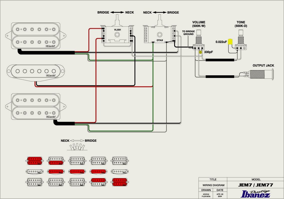 Wiring Diagram For Steven Seven Way Plug Ibanez Jem7vwh Rh Jem777 Home Xs4all Nl Trailer