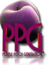 Purple Peach Generation Logo